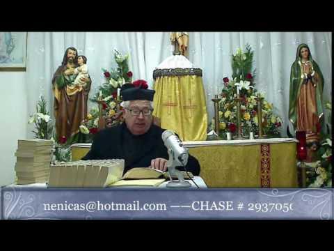 2016.Dic.29 - Las tres potencias del alma segun la dogmatica
