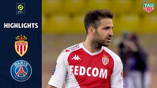 AS MONACO - PARIS SAINT-GERMAIN (3 - 2) - Highlights - (ASM - PSG) / 2020-2021