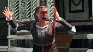 Most VIOLENT! Scene In Assassins Creed The Ezio Collection 1080p 60fps