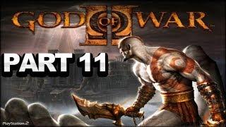 God of War 2 Walkthrough - Part 11 - Courtyard of Atropos