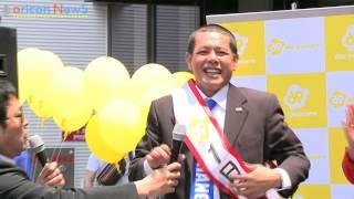 お笑いコンビ・デンジャラスのノッチが5月31日、都内で行われたポップコ...