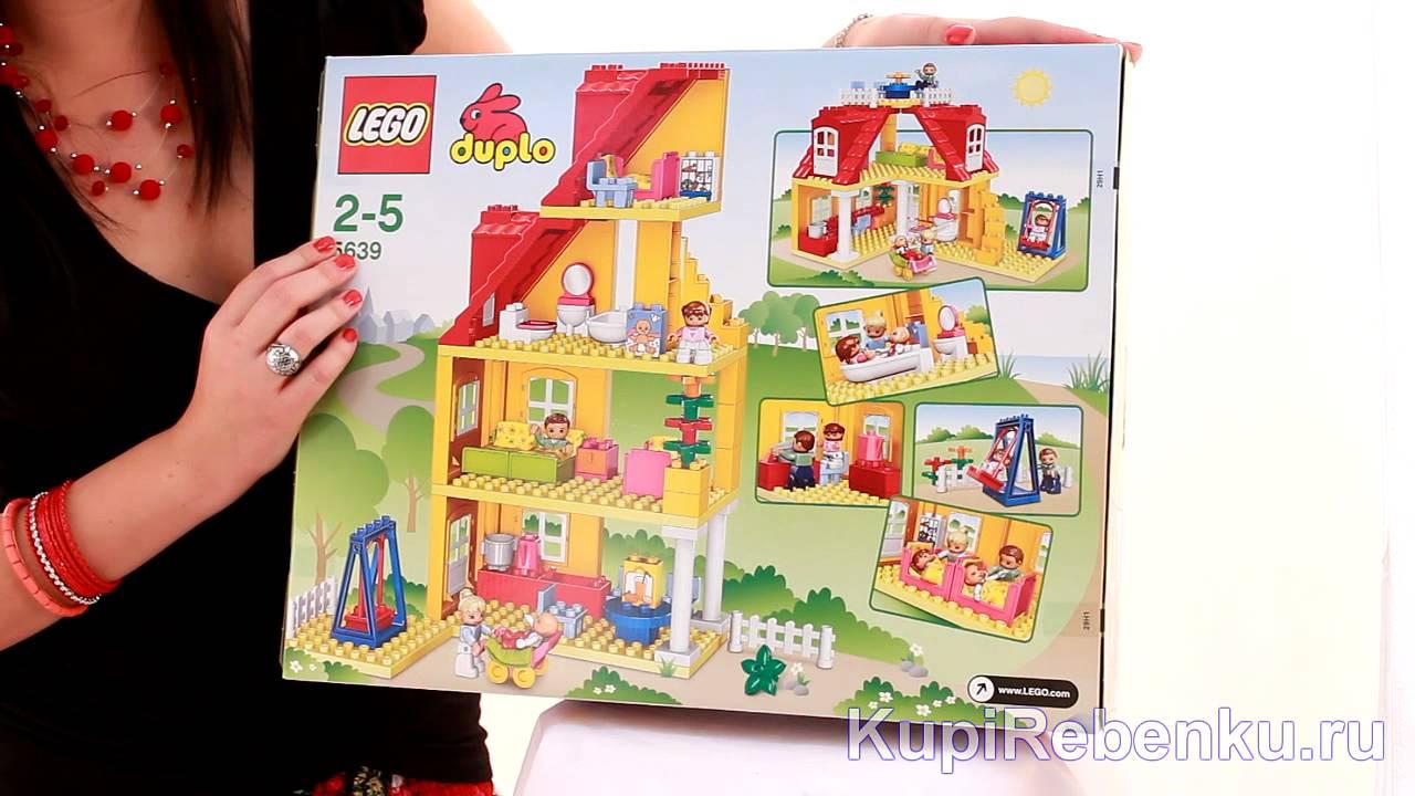 Lego Duplo 10507 (Мой первый поезд) - YouTube