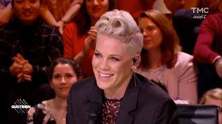 P!nk interview on Quotidien (05-12-2017) HD
