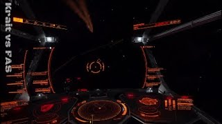 Elite Dangerous PvP: Krait vs FAS