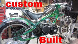 cold start, custom bikes get show ready,