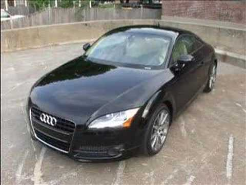 test driving the 2008 audi tt coupe 3 2l quattro youtube. Black Bedroom Furniture Sets. Home Design Ideas