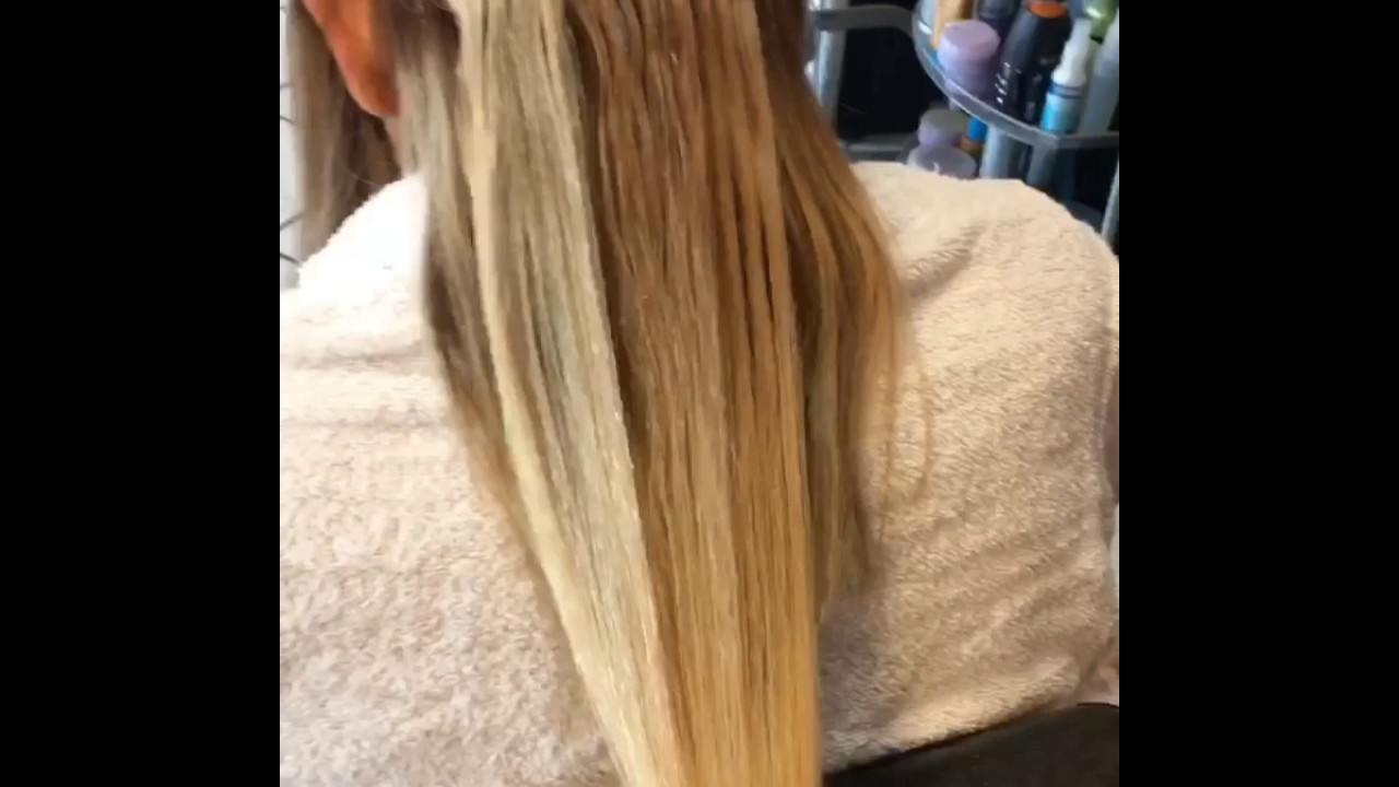 Tape In Hair Extensions 18 Youtube