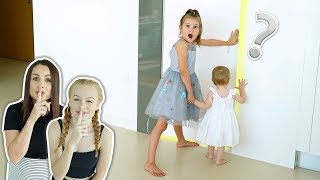 Sisters Discover Hidden Room We Built! *SECRET DOORWAY*