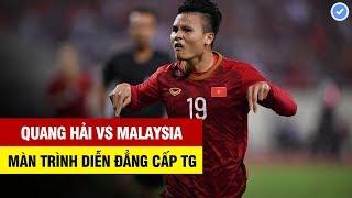 Quang Hải vs Malaysia | Màn trình diễn đẳng cấp Thế giới khiến cả Châu Á hết lời ngợi ca |10/10/2019