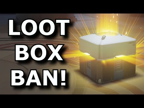Gaming Loot Boxes Are Now Being BANNED! - Rant Video