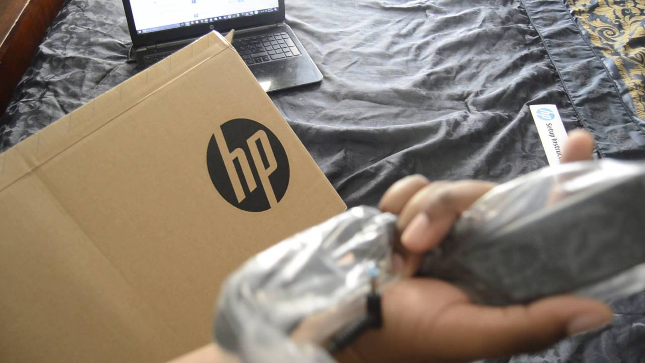 29e5c31d0453 HP 17.3 Inch Touchscreen Laptop Unboxing