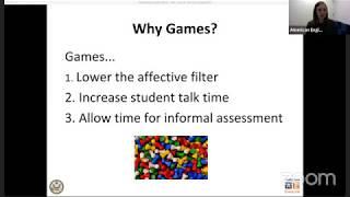 AE Live Teacher Development Event 1.6: Using Games to Build Vocabulary & Grammar Skills