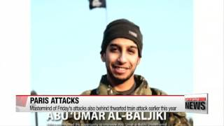 Paris attacks mastermind also behind thwarted train attack: French authorities