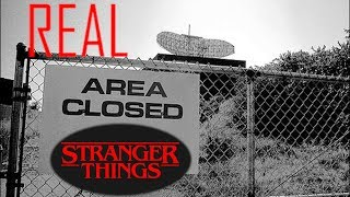 Stranger Things In Real Life - Top Secret Abandoned  Haunted!!