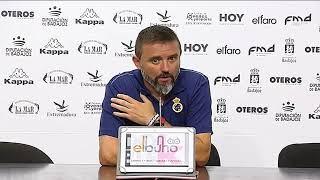 Julio Cobos tras Badajoz-Balona (20-08-17)