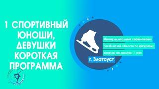 1 спорт юноши, девушки, КП   Межмуниципальные соревнования Чел. обл., 1 этап 2021, г. Златоуст