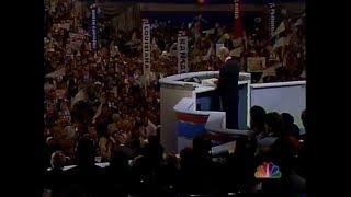 Bill Clinton 1992 DNC Speech