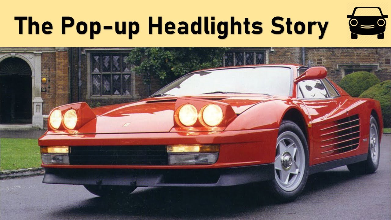 The Pop Up Headlights Story Youtube