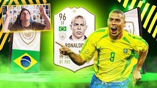 TO SIĘ STAŁO NAPRAWDĘ! RONALDO NAZARIO 96 PRIME! MAMY GO! | FIFA 19 JUNAJTED