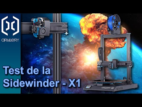 Découverte et test de la Sidewinder-X1 d'Artillery 3D