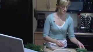 Clear Cut Cooking- Lemon Garbanzo Salad With Feta Cheese