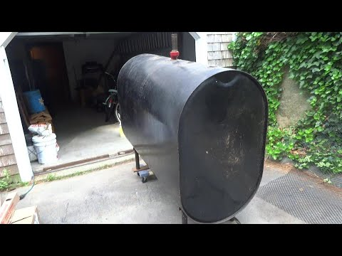 275 GALLON RESIDENTIAL OIL TANK LEAKING  REPLACED