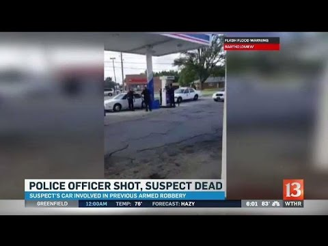 Video shows shots fired at start of Indianapolis police