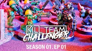 Kill Team: Challenger - Orks vs Salamanders S01E01