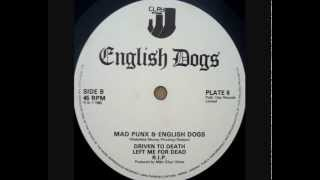 "ENGLISH DOGS - ""Mad Punx & English Dogs"" (side B)"