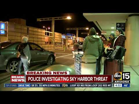 Overnight police situation resolved at Sky Harbor