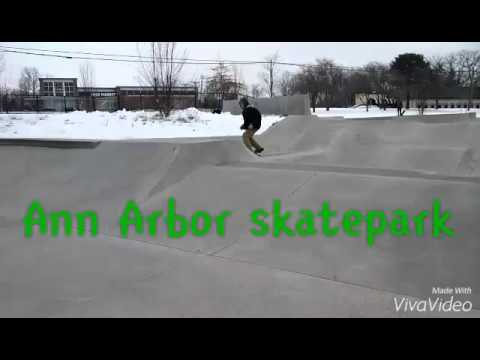 Ann Arbor skatepark with Owen