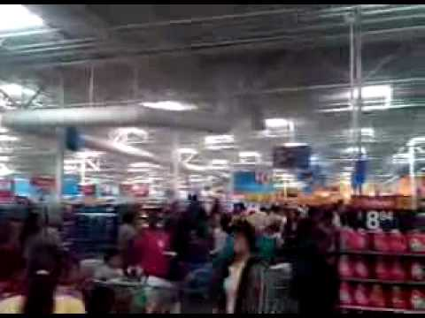 High Efficiency Walmart Store - Florin, California - June, 2009.avi