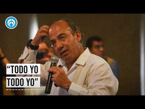 """¡Todo yo, todo yo! Que la canten clara o que se callen"""": Calderón"""