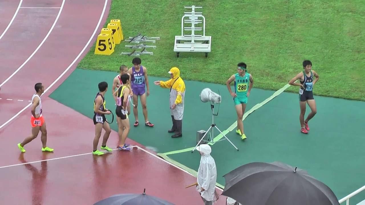 H28 千葉県高校新人陸上 男子110mH 決勝 大會新記録 森戸信陽 ...