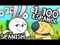 Counting to 100 in Spanish Song | Numeros Del 1 al 100 en Español
