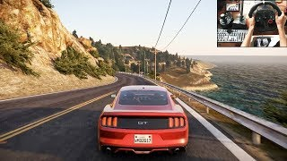 Ford Mustang GT | Morning drive | Project Cars 2 (logitech g29) gameplay