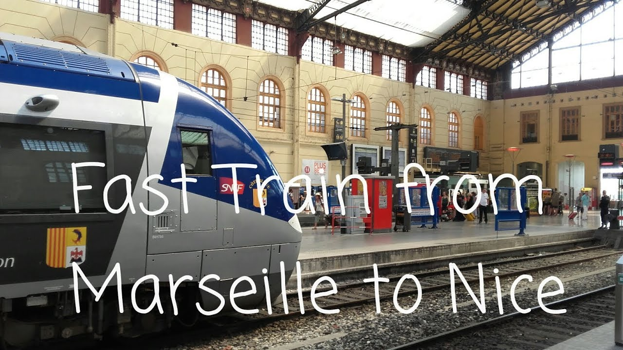 fast train from marseille to nice in france