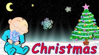 12 hour Christmas Lullaby For Babies To Go To Sleep Soft Music Cartoon Lullabies
