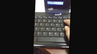 [Mylan Group] Enter password to login the Vjet1000 printer