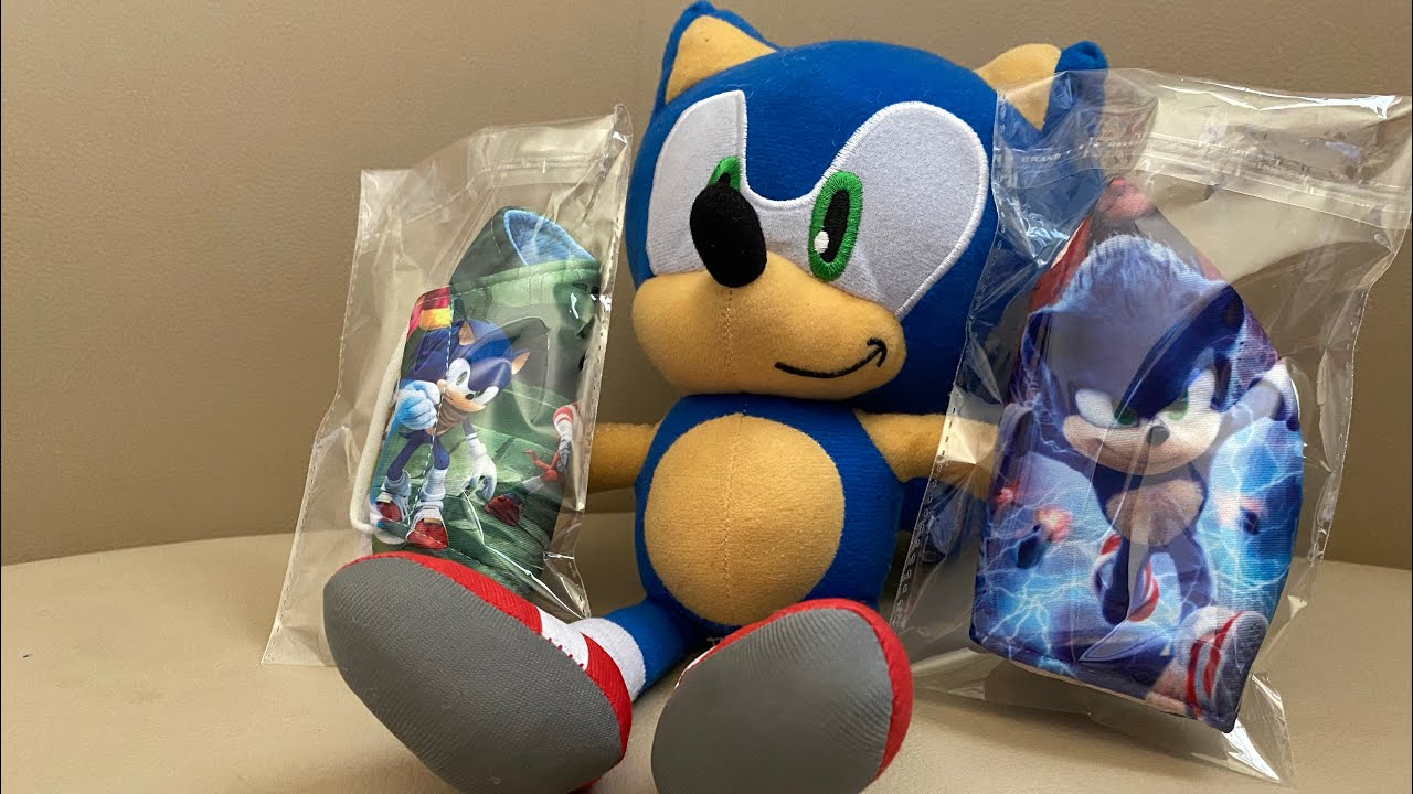 Sonic The Hedgehog Movie And Sonic Boom Face Masks Youtube