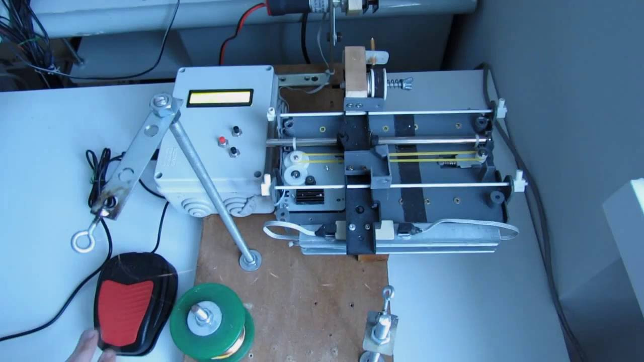 A DIY CNC Pickup Winding machine built on an ATmega8 - YouTube