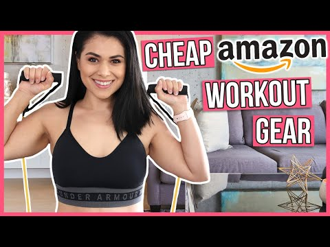 4 CHEAP At Home Workout Gear Must Haves From Amazon (ALL UNDER $20)