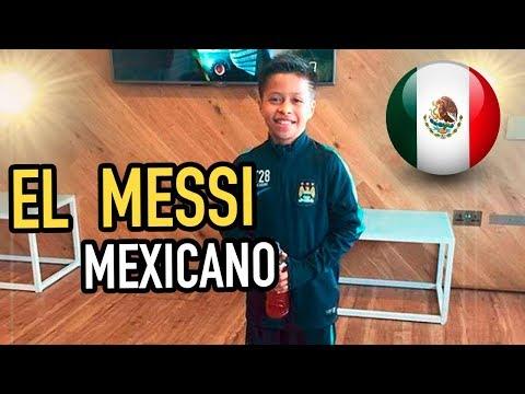 ASÍ es ALEX ALCALÁ , el MESSI MEXICANO | ¿En qué EQUIPO acabará?