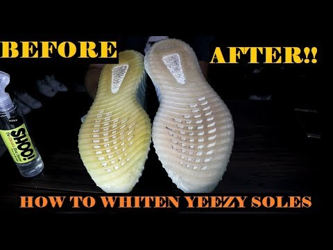 HOW TO WHITEN YEEZY  BOOST OUTSOLES - BEST RESULTS! (IN ENGLISH!!!) - GeloPinedaVlogs019