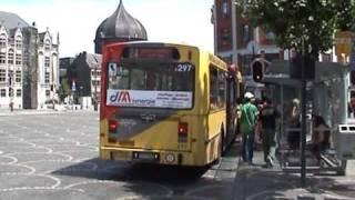 AG280 en A120 TEC Liège op stadslijnen 48 en 24.