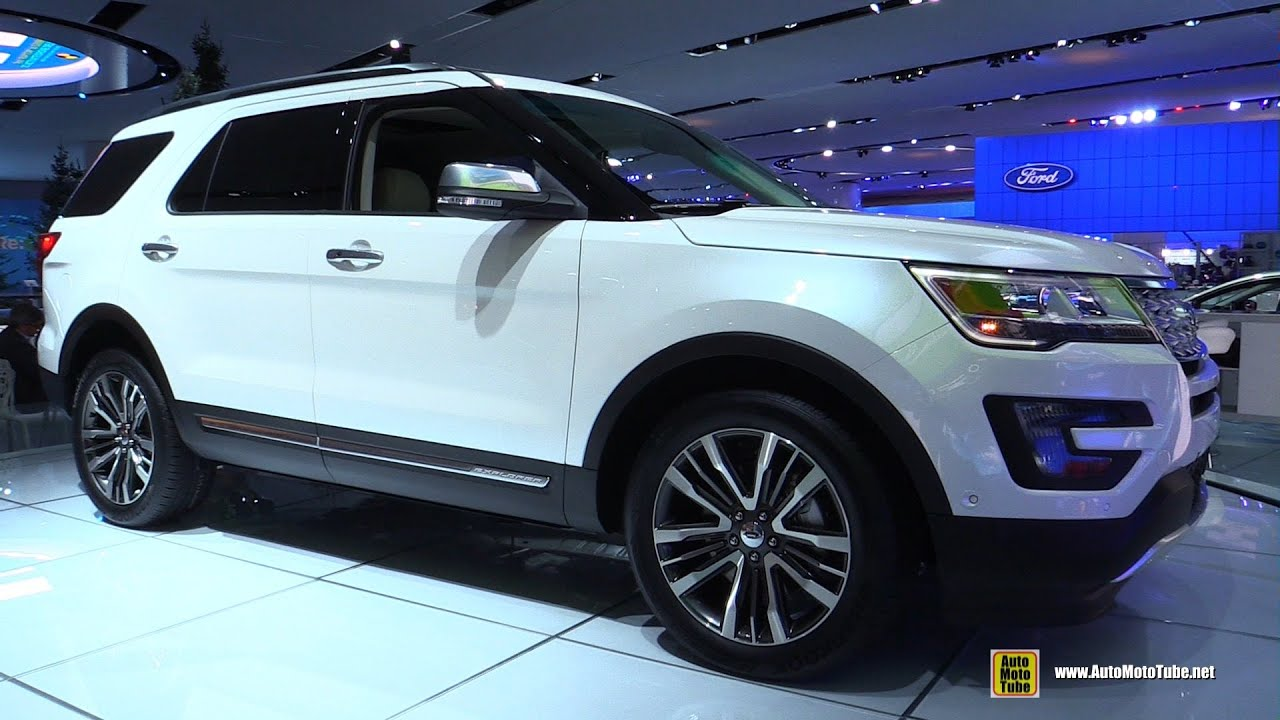 2015 Ford Explorer Platinum Exterior And Interior