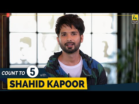 Shahid Kapoor | Count To 5 | Ishq Vishk | Jab We Met | Kaminey | Haider | Udta Punjab