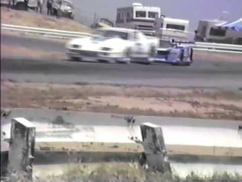 IMSA GTP Riverside Raceway Track practice 1986