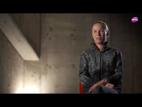 2017 Toray Pan Pacific Open Pre-Tournament Interview   Caroline Wozniacki