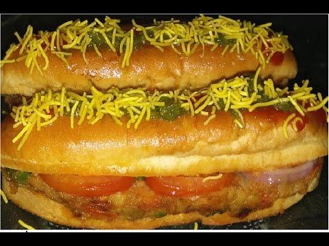 How To Make Veg Hot Dog In Hindi